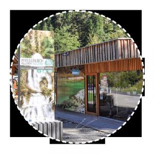 Besucherzentrum Wasserlochklamm