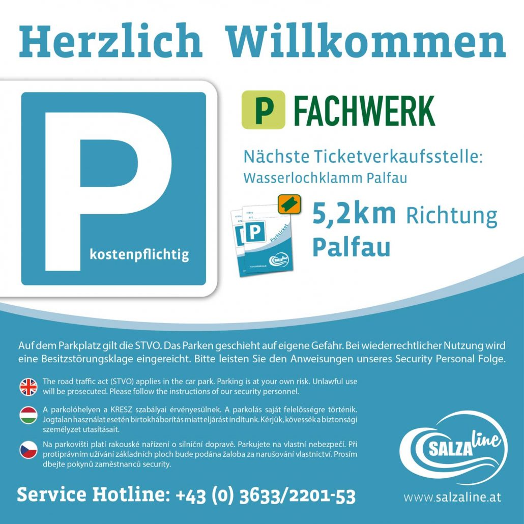 Salzaline - Parkplatz Fachwerk